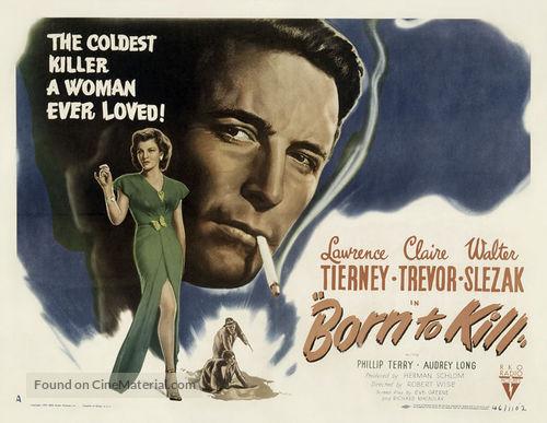 Born To Kill Movie Poster
