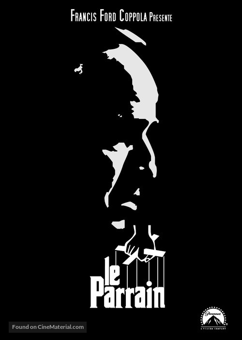 The Godfather - French Movie Poster