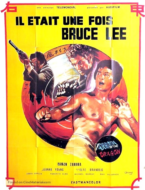 Shadow of the Dragon - French Movie Poster