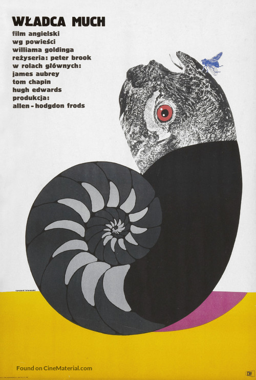 Lord of the Flies - Polish Movie Poster