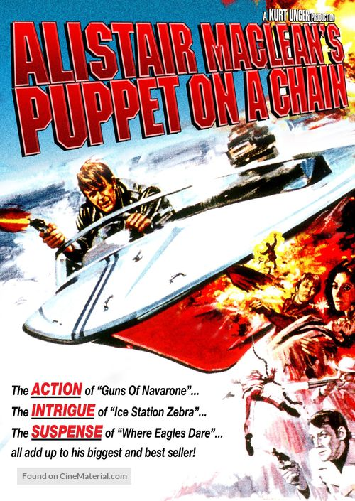Puppet on a Chain - DVD movie cover