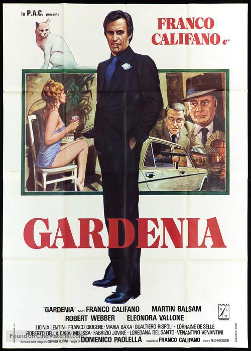 Gardenia, il giustiziere della mala - Italian Movie Poster