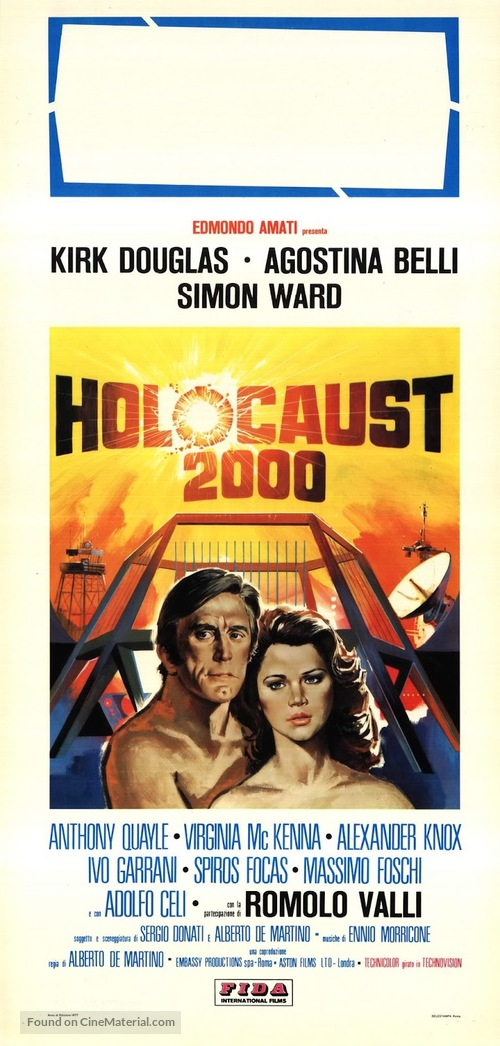 Holocaust 2000 - Italian Movie Poster