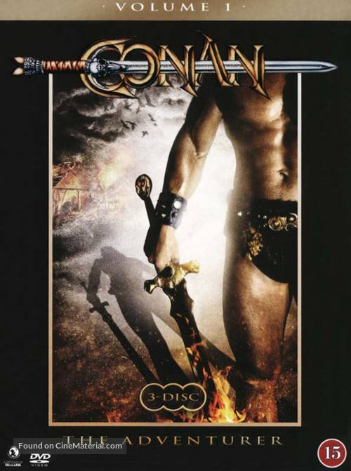 """Conan"" - Danish DVD movie cover"
