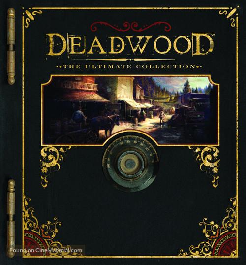 """Deadwood"" - German Blu-Ray cover"