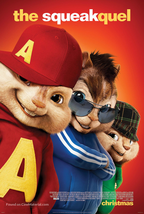 Alvin and the Chipmunks: The Squeakquel - Movie Poster