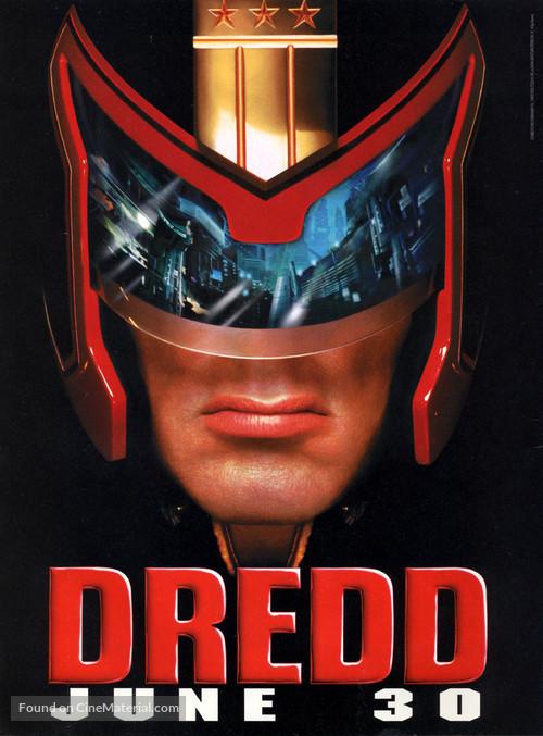Judge Dredd - Movie Poster