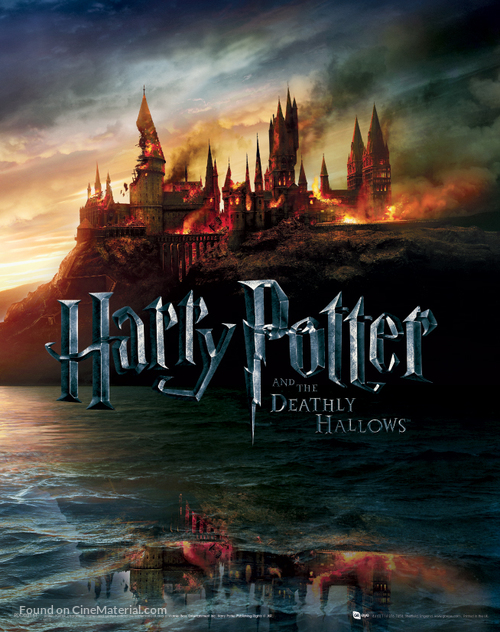 Harry Potter and the Deathly Hallows: Part I - British Combo movie poster