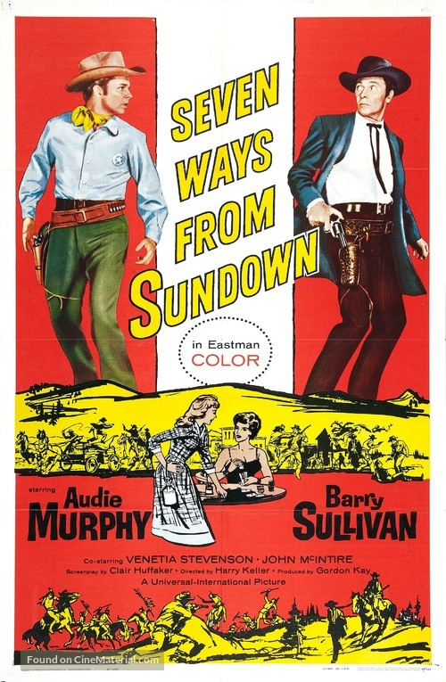 Seven Ways from Sundown - Movie Poster