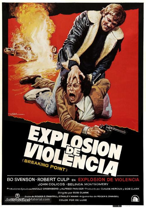 Breaking Point - Spanish Movie Poster