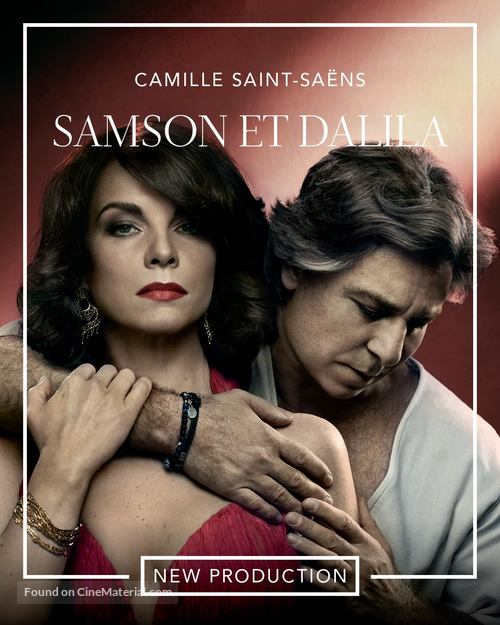Image result for Met Opera Season 2018-2019 posters Samson and Dalila