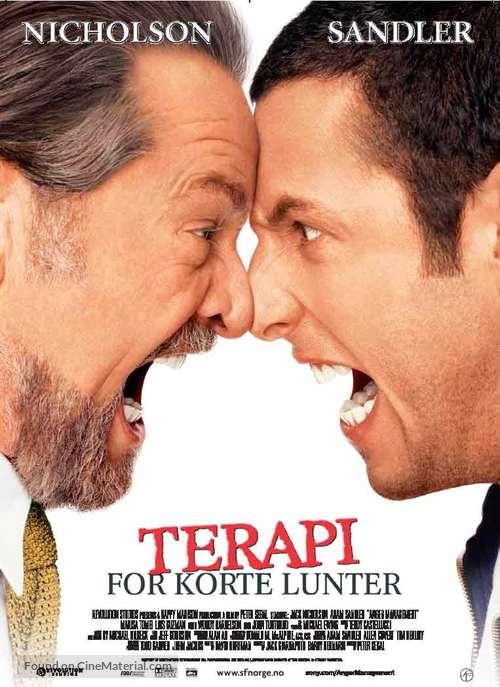 Anger Management - Norwegian Movie Poster