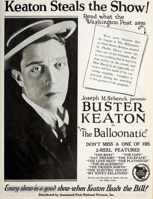 The Balloonatic - poster