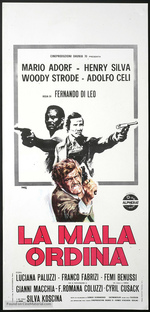 La mala ordina - Italian Movie Poster