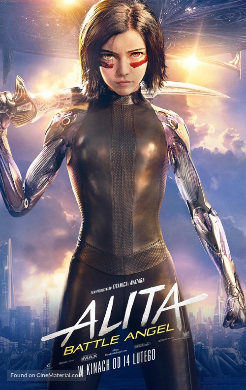 Alita: Battle Angel - Polish Movie Poster