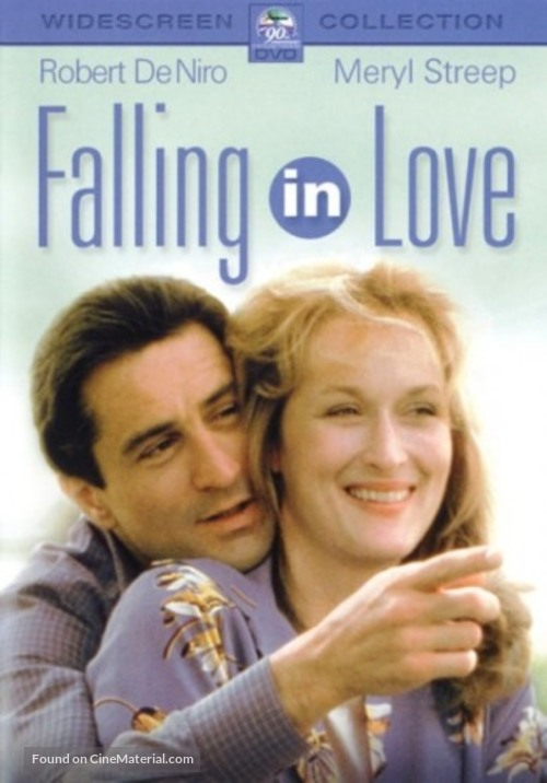 Falling in Love - DVD movie cover