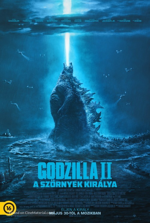 Godzilla: King of the Monsters - Hungarian Movie Poster