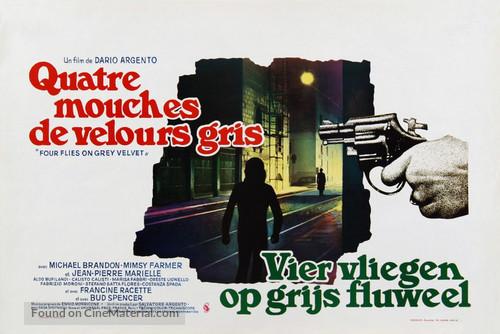 4 mosche di velluto grigio - Belgian Movie Poster