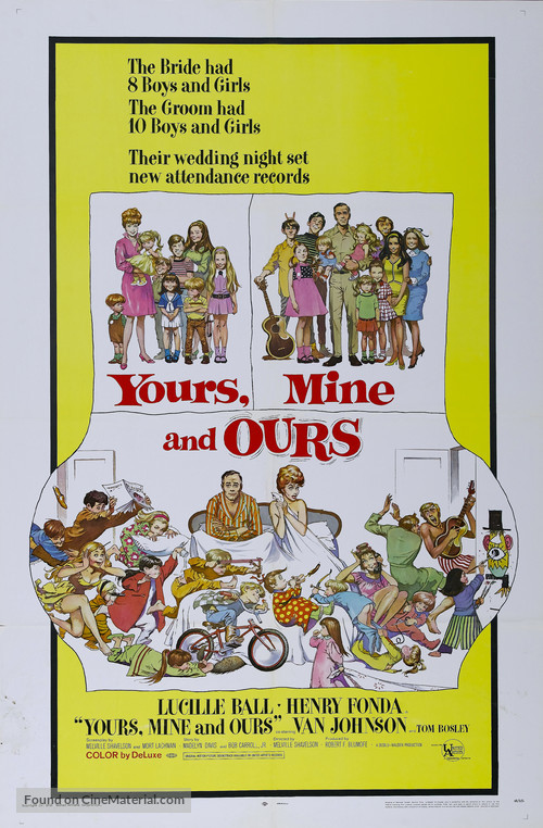 Yours, Mine and Ours - Movie Poster