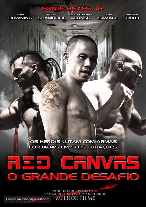 The Red Canvas - Brazilian Movie Cover