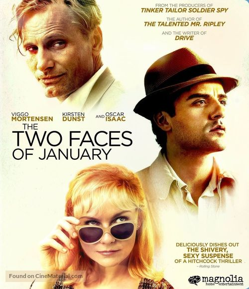 The Two Faces of January - Blu-Ray movie cover