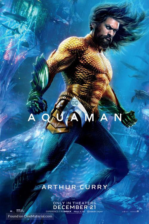 Aquaman - Character movie poster