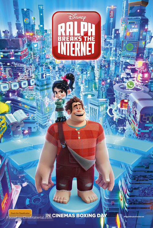 Ralph Breaks the Internet - Australian Movie Poster