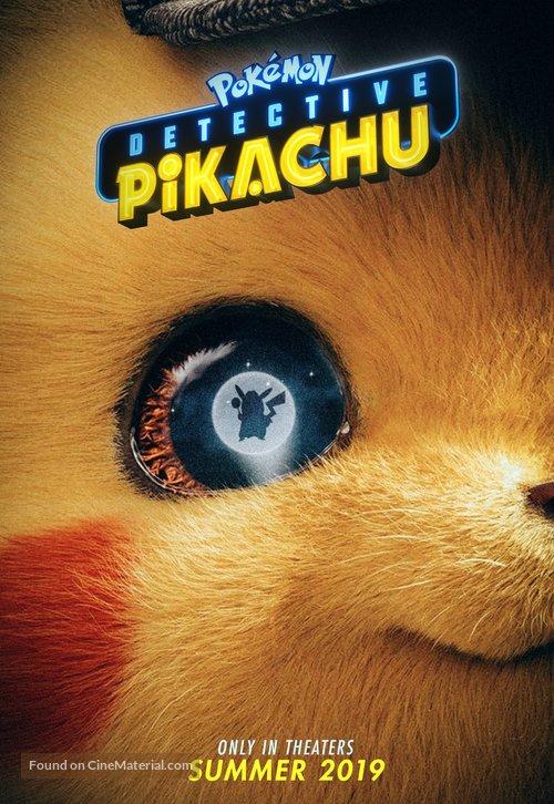 Pokémon: Detective Pikachu - Movie Poster