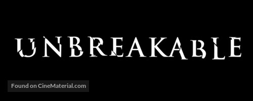 Unbreakable - British Logo