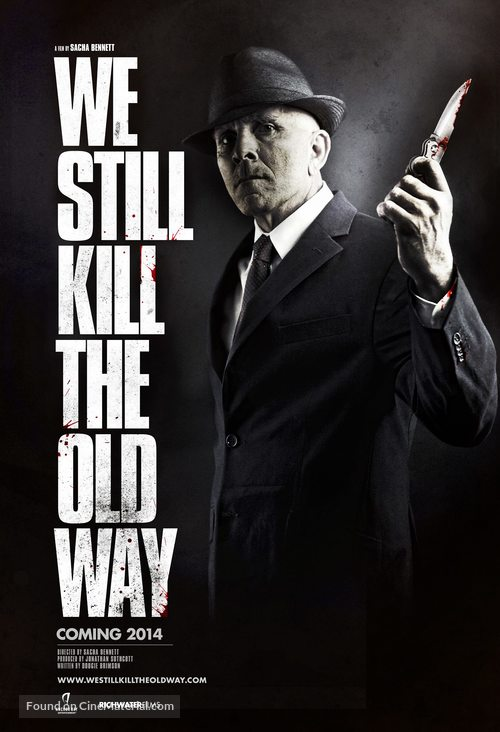 We Still Kill the Old Way - British Movie Poster