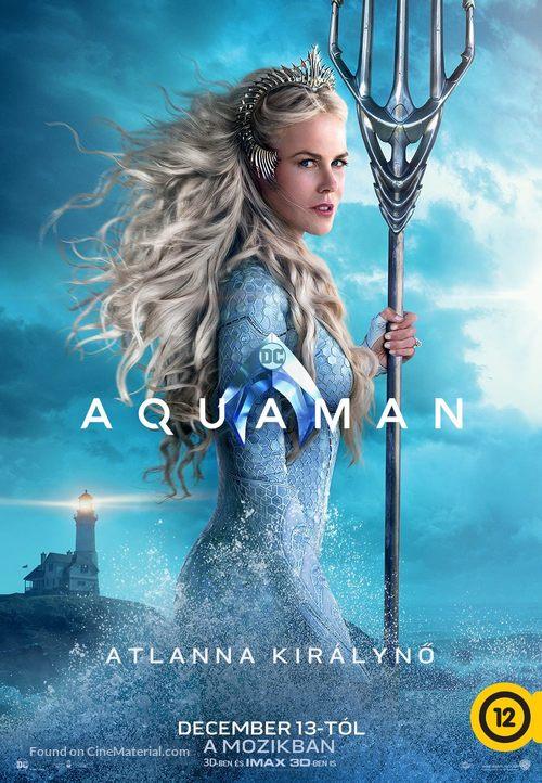 Aquaman - Hungarian Movie Poster