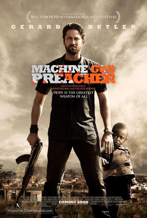 Machine Gun Preacher - Movie Poster