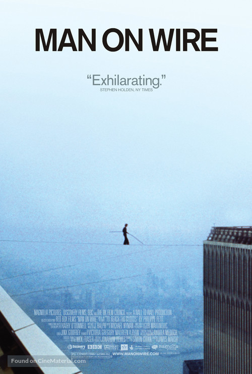 Man on Wire - Movie Poster