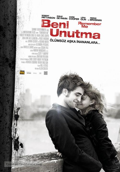 Remember Me - Turkish Movie Poster