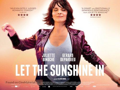Un beau soleil intérieur - British Movie Poster