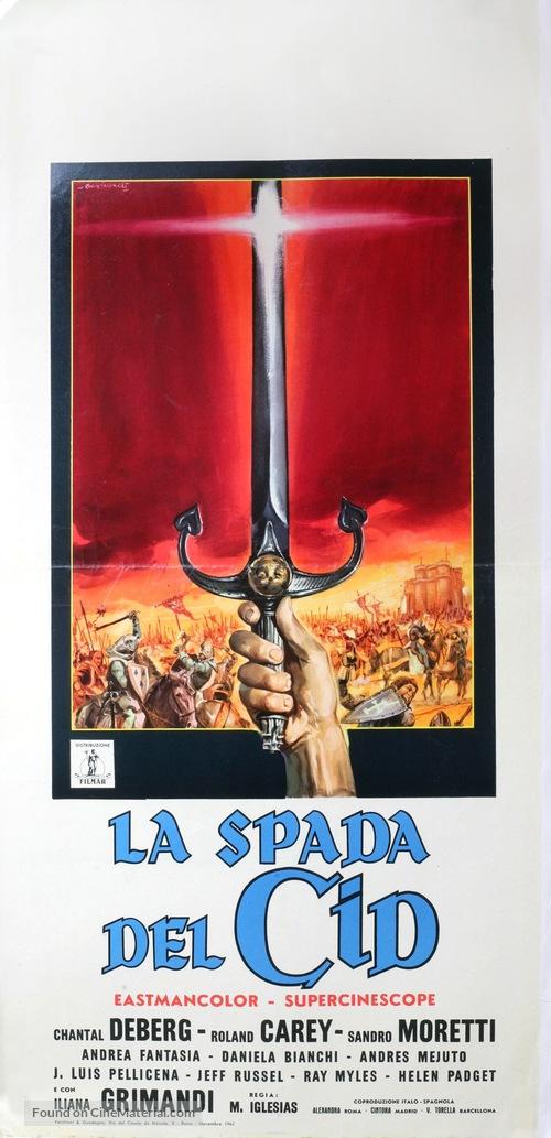 La spada del Cid - Italian Movie Poster
