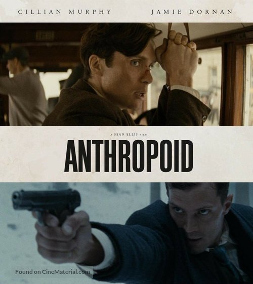 Anthropoid - Blu-Ray movie cover