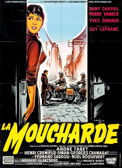La moucharde - French Movie Poster
