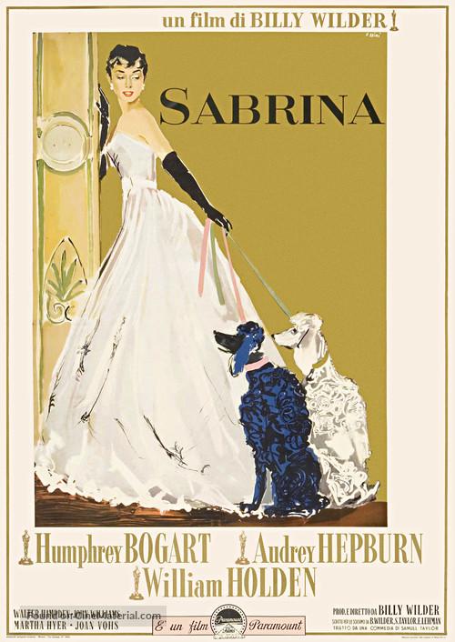 Sabrina - Italian Movie Poster