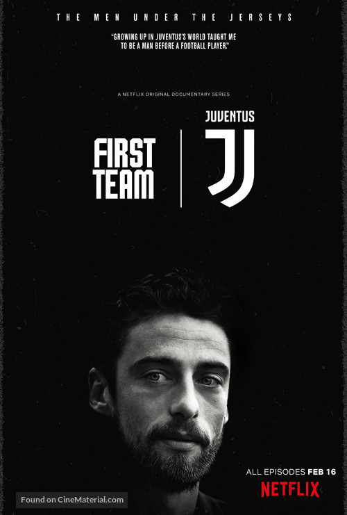 """First Team: Juventus"" - Movie Poster"