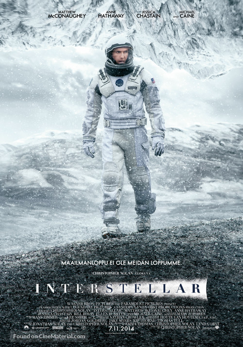 Interstellar - Finnish Movie Poster
