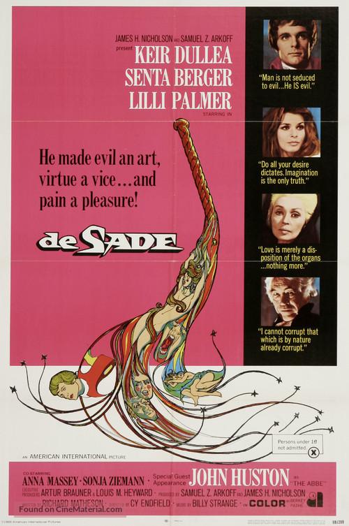 De Sade - Movie Poster
