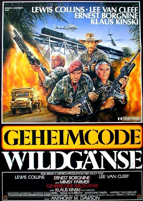 Geheimcode: Wildgänse - German Movie Poster