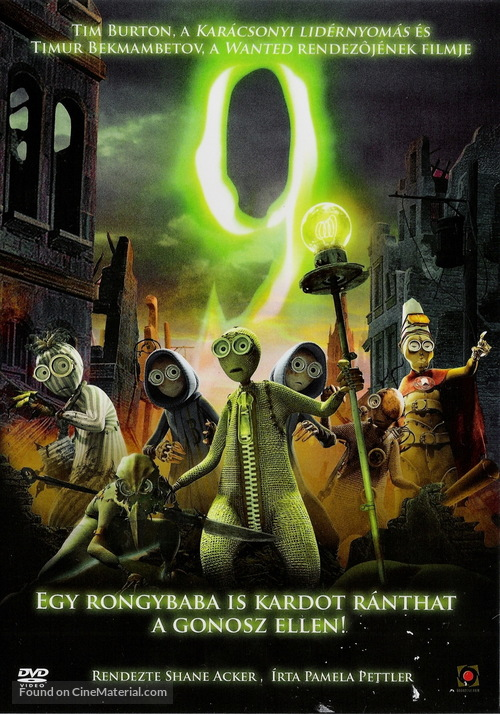 9 - Hungarian DVD movie cover
