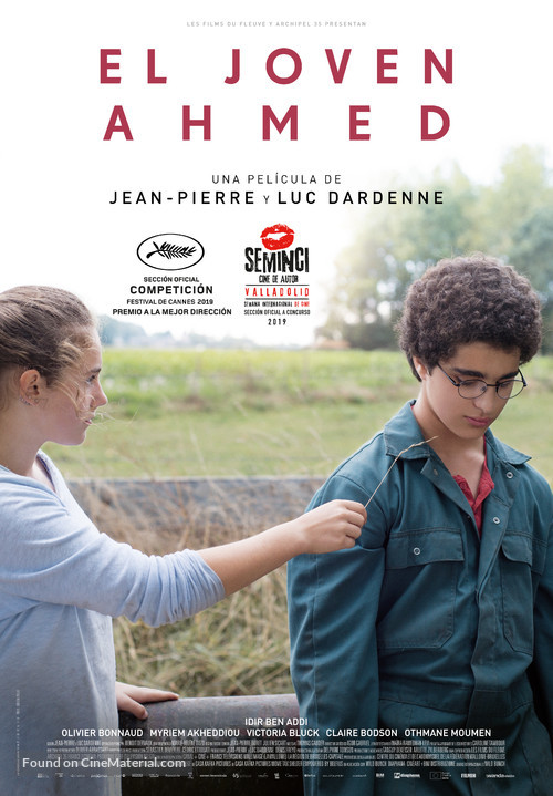 Le jeune Ahmed - Spanish Movie Poster