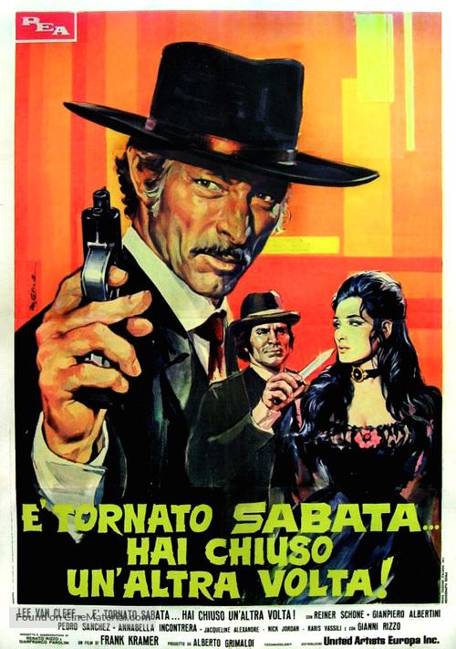 È tornato Sabata... hai chiuso un'altra volta - Italian Movie Poster