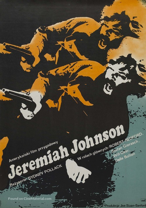 Jeremiah Johnson - Polish Movie Poster