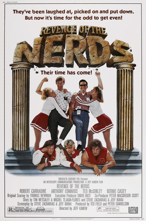 Revenge of the Nerds - Movie Poster