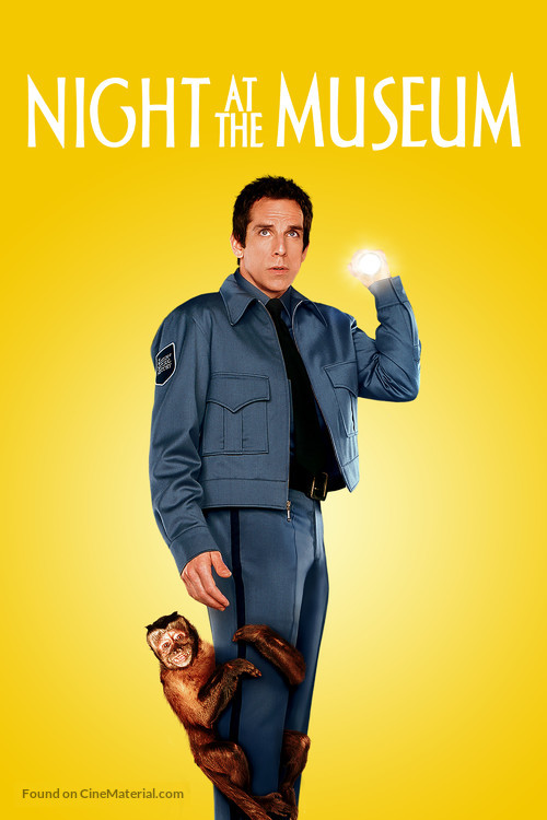 Night at the Museum - Movie Cover