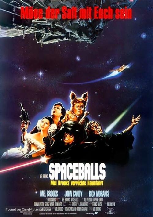 Spaceballs - German Movie Poster